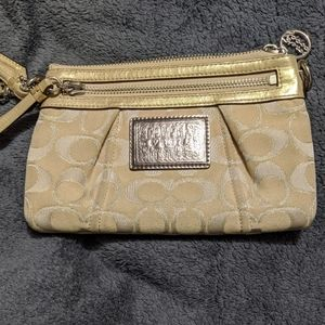 Coach Clutch/Wristlet from Poppy Collection